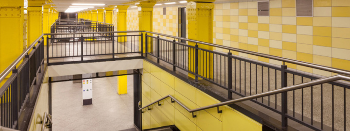 Berlin Underground Station Tiles