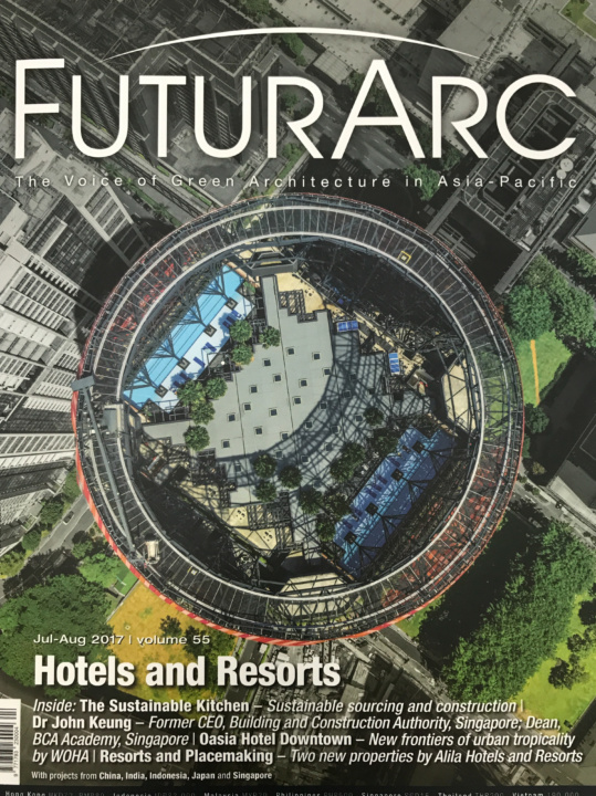 FutureArc Magazine Featured: Oasia Downtown Hotel Project   ABK